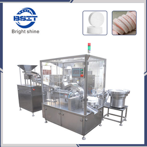 SUS304 Pharmaceutical/Medical/Food Effervescent Tablet Filling Counting Packing Machine (BSP-40)