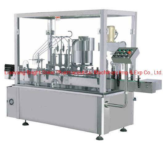 Oral Liquid Syrup Bottle Piston Pump Liquid Filling Sealing Machine (30-60ml)