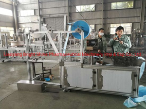 Fully Automatic Face Mask Blank Making Machine with Ultrasonic Welding