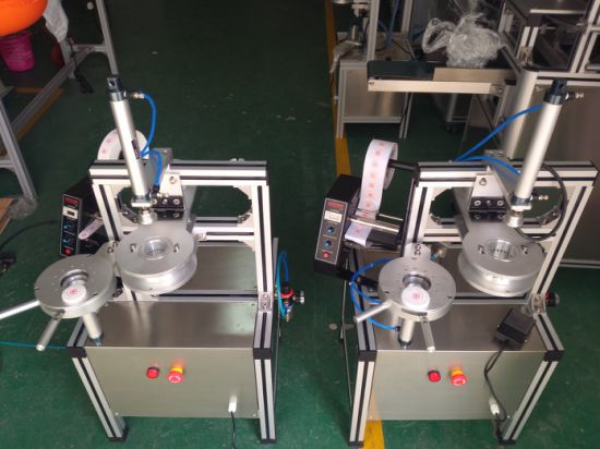 Handmade Hotel Round Packaging Pleate Soap Machine for Ht900