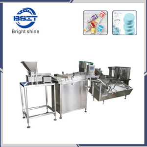 High Speed Effervescent Tablet Packing Machine for 60-80 Tubes/Min