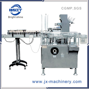 (3+1) Small Box Enter Big Pill Box Cartoning Packing Machine