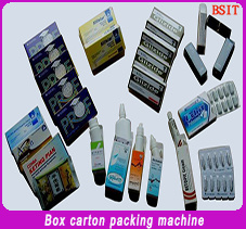10ml E-Liquids Round Bottle Carton Box Packaging Machine