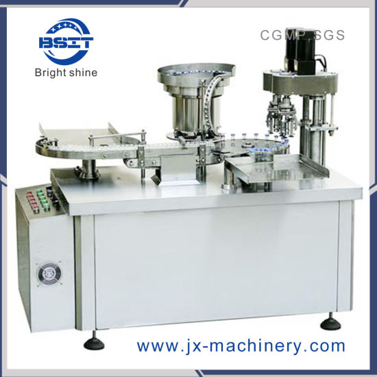 Manual Control 1ml Glass Vial Aluminum Capping Machine with Cork GMP