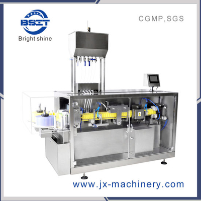 Fully Automatic Plastic Ampoule Disinfectant Forming Filling Sealing Packaging Machine