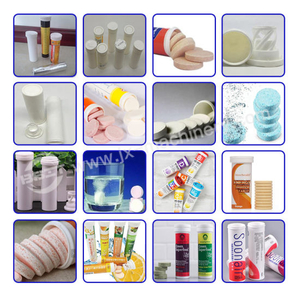 Pharmaceutical Plastic Tubes Effervescent Tablet Pill Bottle PP with Spring Cap PE