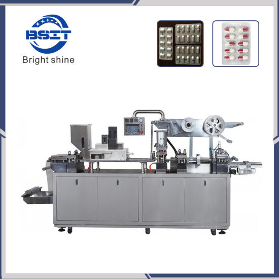 Pharmaceutical Manufacturing Servo Motor Blister Packing Machine of Tablet/Capsule/Pills Assembly Line