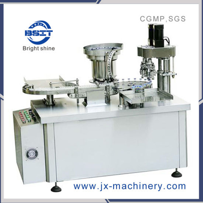 Bzd-S-120 Line Type Vial Bottle Capping Machine (Three Knives)