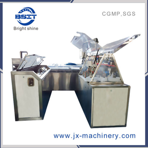 Suppositories Glycerinated Gelatin Pharmaceutical Filling Cutting Making Machine