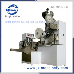 Dxdc8IV Micro Tea /Granulted Tea Tea Bag Sealing Machine/Tea Bag Forming Filling Sealing Machine