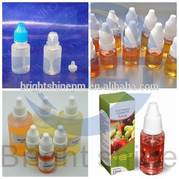 Automatic Eliquid Bottle Filling Capping Labeling Carton Packing Machine