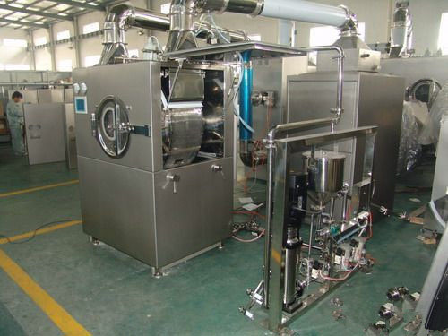 Automatic High -Efficiency Tablet Film-Coating Machine with CIP Washer Online for Bgb-D