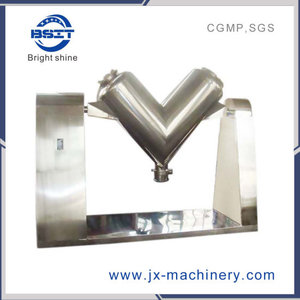 V Type Dry Granule Powder Blender Mixer (SUS304)