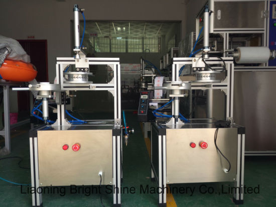 Handmade Mini Pleat Soap Wrapping Packing Machine for Ht-900