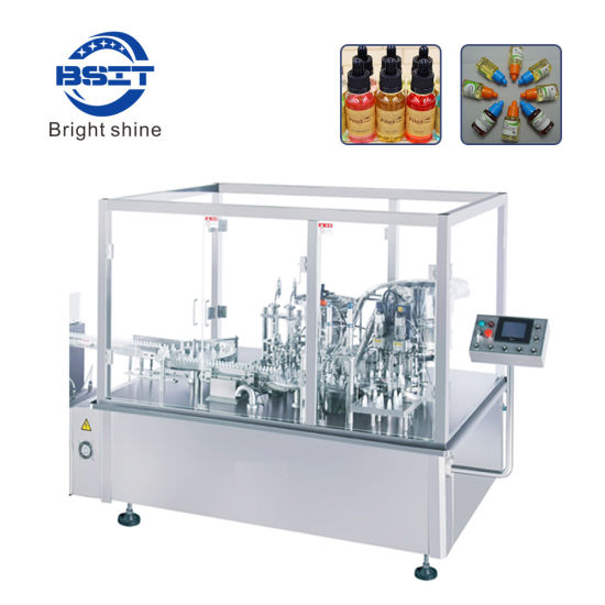 Automatic E Cigarette (E-cig) Eyedrop E-Liquids Oil Filling Machine