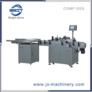 Automatic Sticker Round Bottle Labeling Machine for Bsm