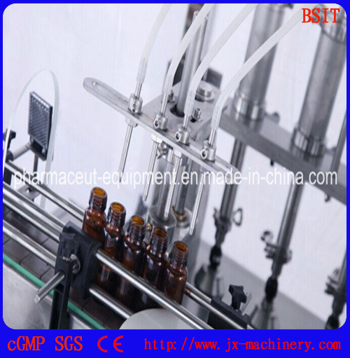 Oral Liquid Solution Syrup Filling and Capping Sealing Machine