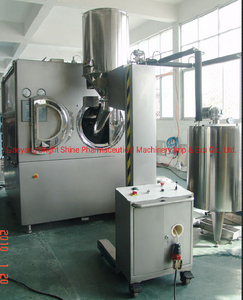 Bgb PLC High Efficient Tablet Film Coating Machine Tablet Coater