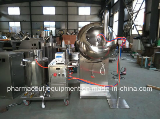 Byc600 Series Peanut/Tablet Film Coating Machine (with GMP)