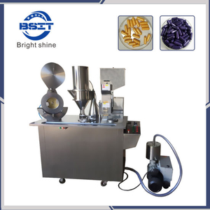 Cgn Semi-Automatic Pill Capsule Filling Machine for Pharmaceutical Machinery with GMP