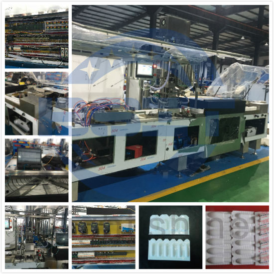 High Speed Fully-Automatic Manufacture Suppository Filling & Sealing Packing Machine