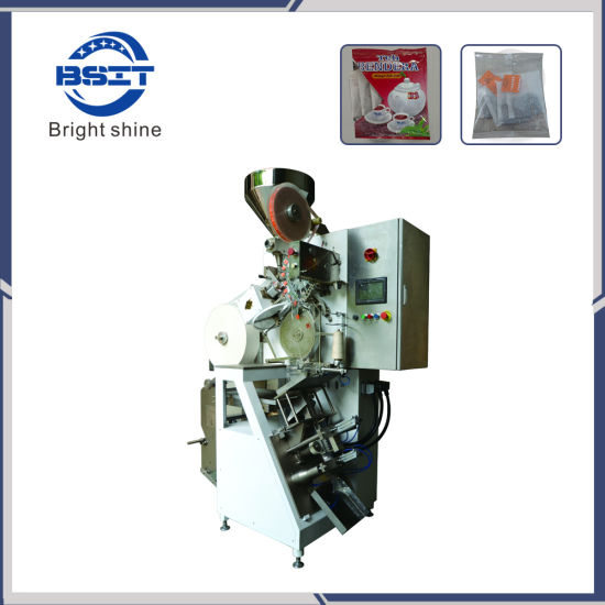 3~5 Tea Bag in an Envelope Single Chamber Tea Bag Machine with Heat Sealing Envelope (DXDC8V)
