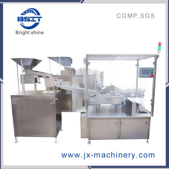 Automatic Operate PLC Control Filling Sealing Conting Packing Machine with GMP