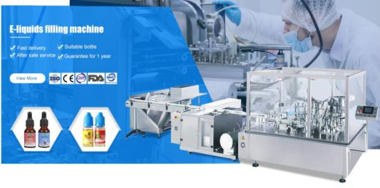 Yg100 Automatic Eyedrops E-Liquid Filling Machine Capping Machine
