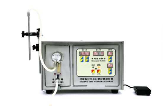 Semi-Auto Hand Washing/Body Lotion/Facial Cream/Foundation/ Shampoo Conditioner/Hand Sanitizer/ Liquid Soap /Washing Detergent Liquid Filling Machine