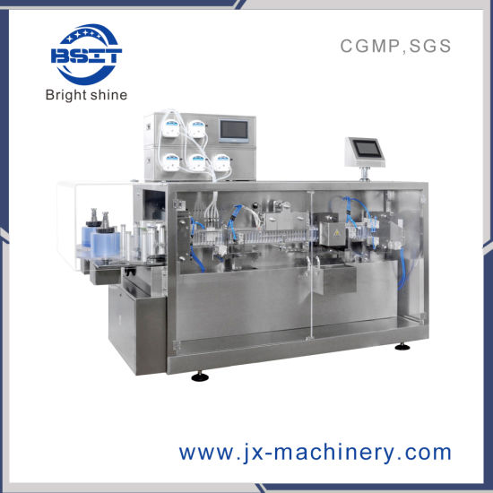 Plastic Ampoule Olive Oil Liquid Filling and Sealing Machine (Dsm120+Lm100)